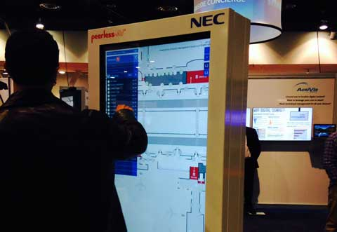 Interactive Directory Display with Google at DSE 2015